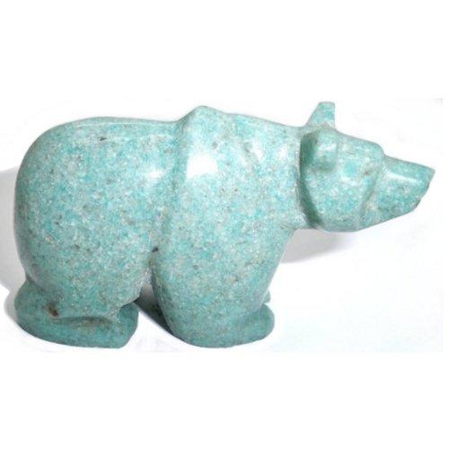 Amazonite bear