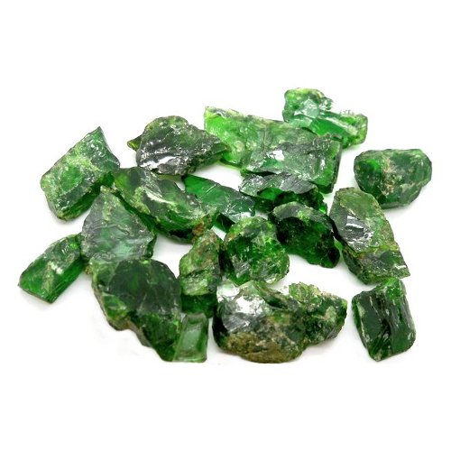 Chrome diopside crystals