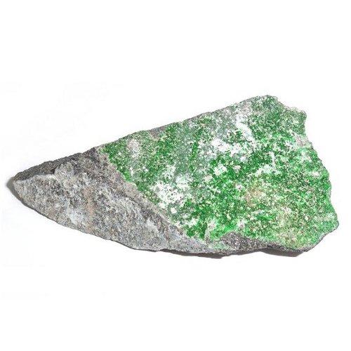 Uvarovite crystals