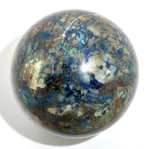 Azurite sphere