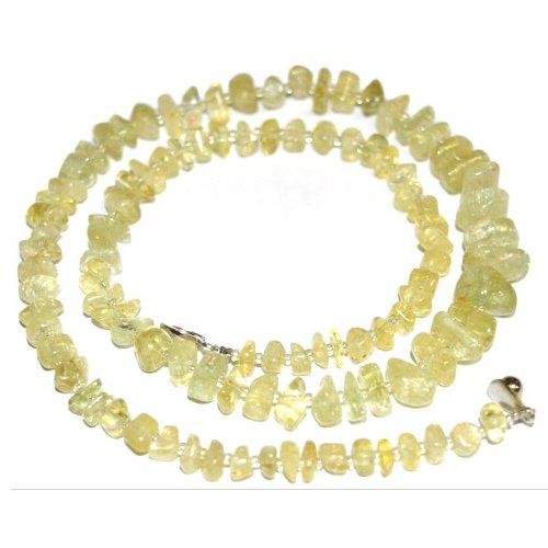 Heliodor necklace