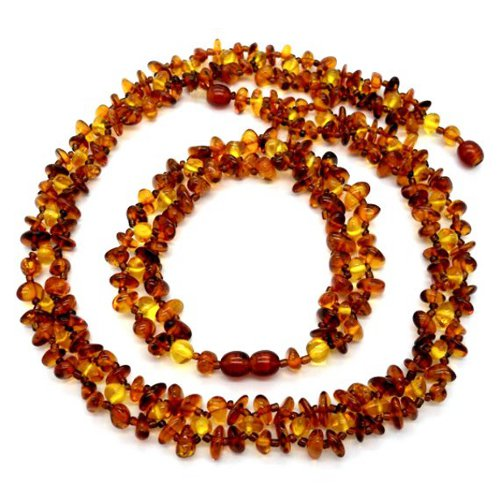 Amber bracelet and necklace