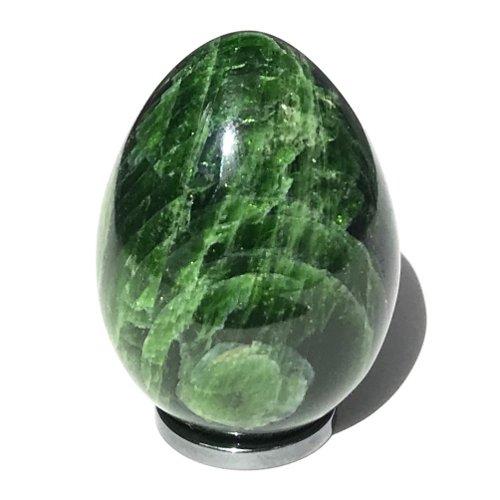 Chrome diopside egg