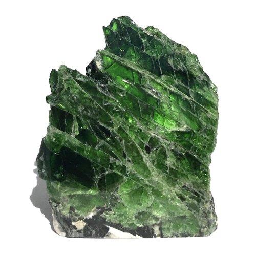 Chrome diopside specimen