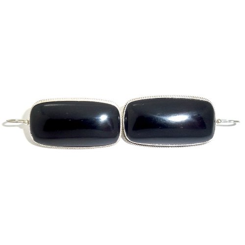 Jet earrings