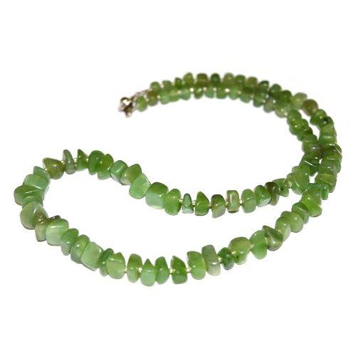 Nephrite necklace