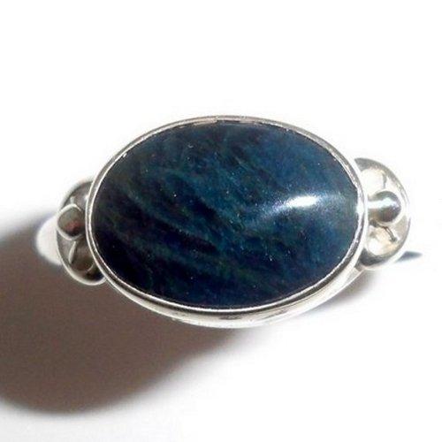 Lazulite ring