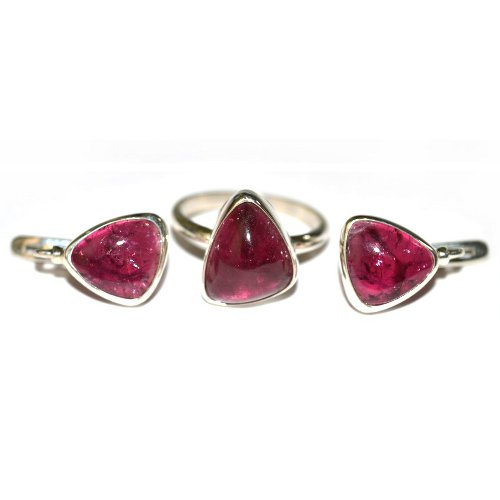 Tourmaline ring and earrings