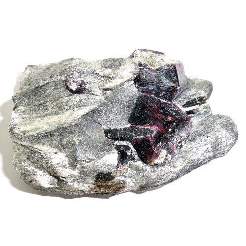 Almandine crystals