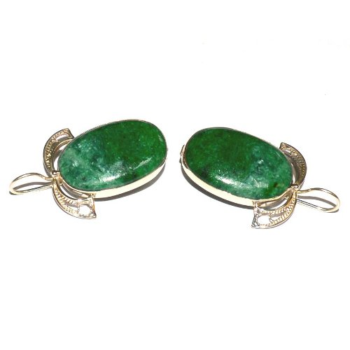 Jadeite earrings