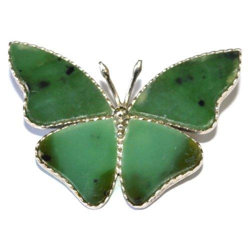 Nephrite brooch