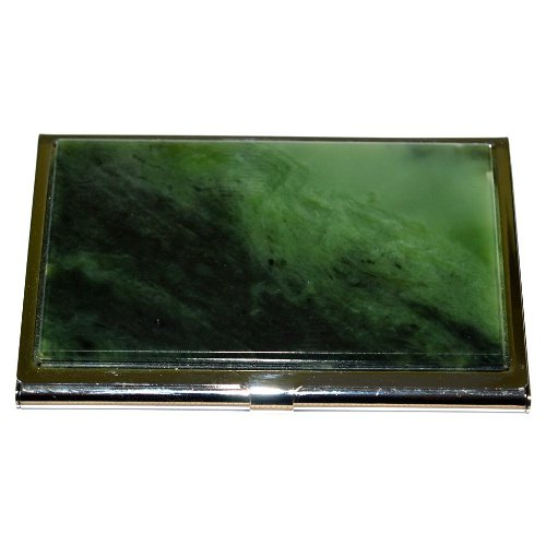 Nephrite business card holder