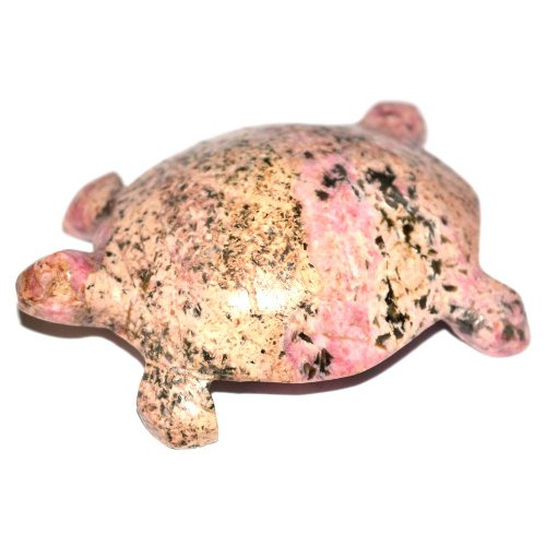 Rhodonite turtle