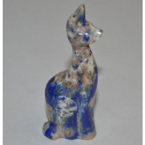 Lapis lazuli cat