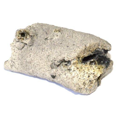 Fulgurite specimen