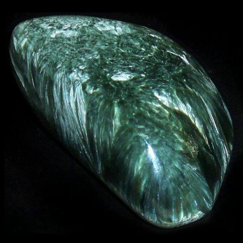 Seraphinite pebble