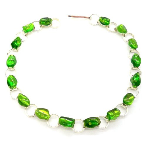 Chrome diopside bracelet