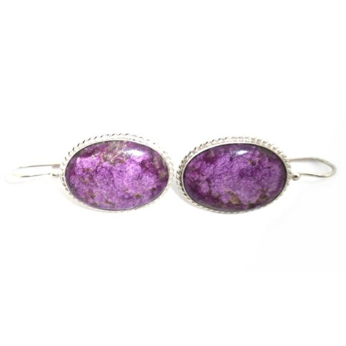 Stichtite earrings