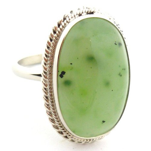 Nephrite ring