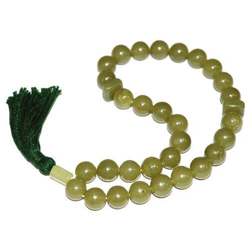 Nephrite rosary