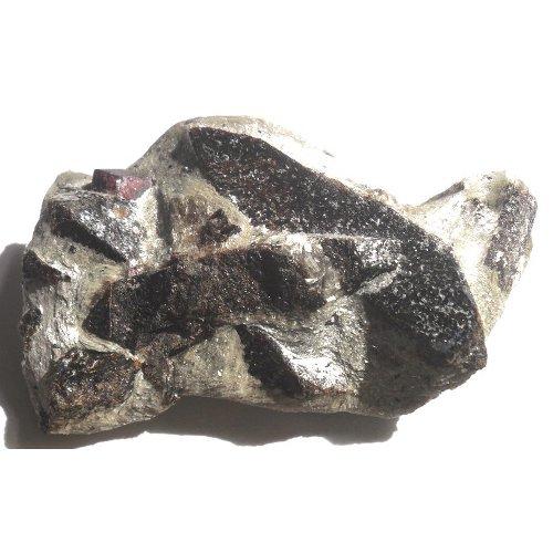 Staurolite crystals