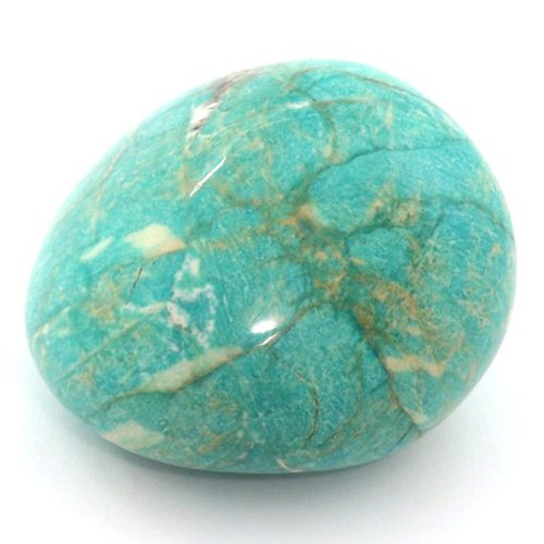 Amazonite pebble