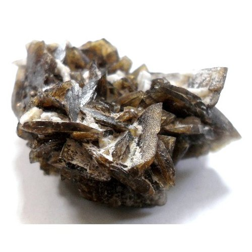 Axinite crystals