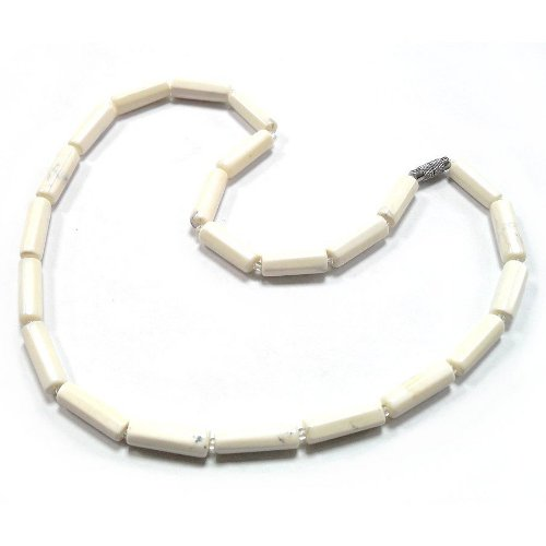 Cacholong necklace