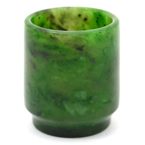 Nephrite shot glass