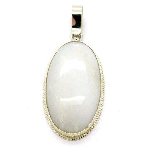 Cacholong pendant