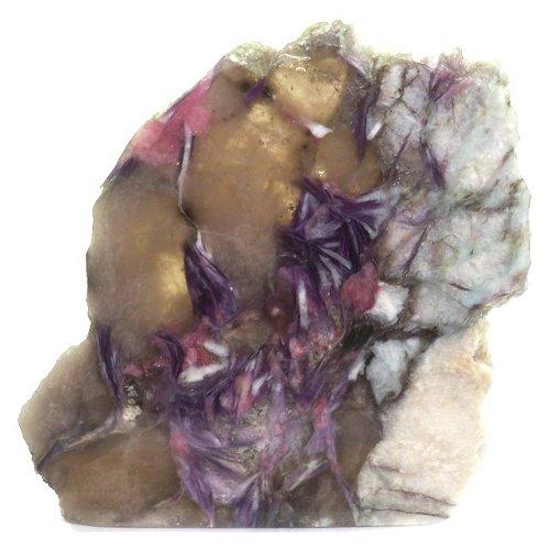 Lepidolite slice