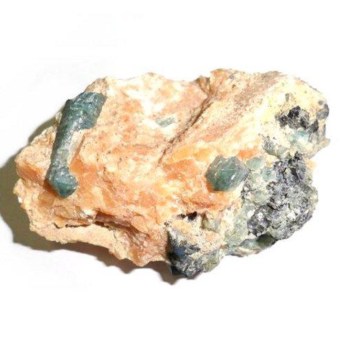Apatite crystals