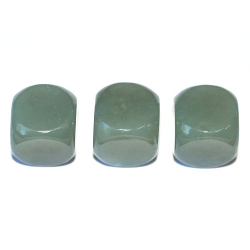 Nephrite cubes