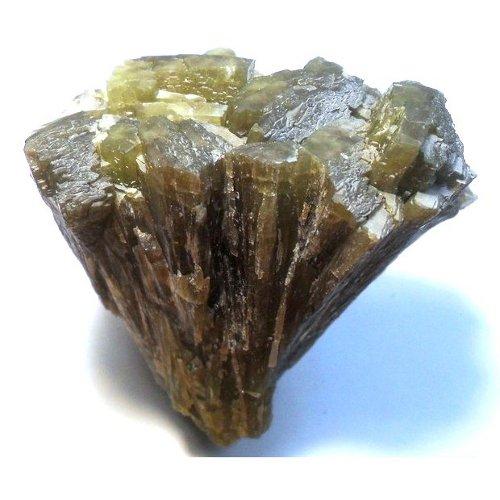 Hedenbergite crystals