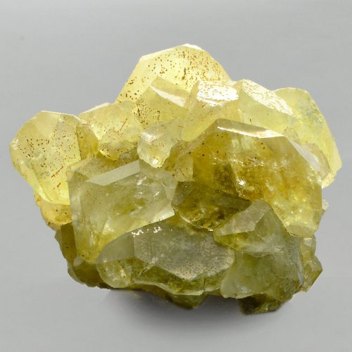 Datolite crystals
